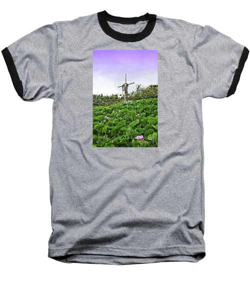 Baseball T-Shirt featuring the photograph Forget Me Not by DJ Florek