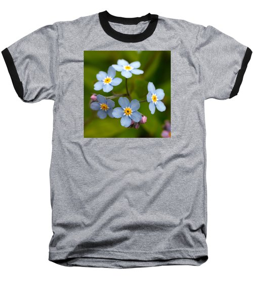 Forget-me-not Baseball T-Shirt
