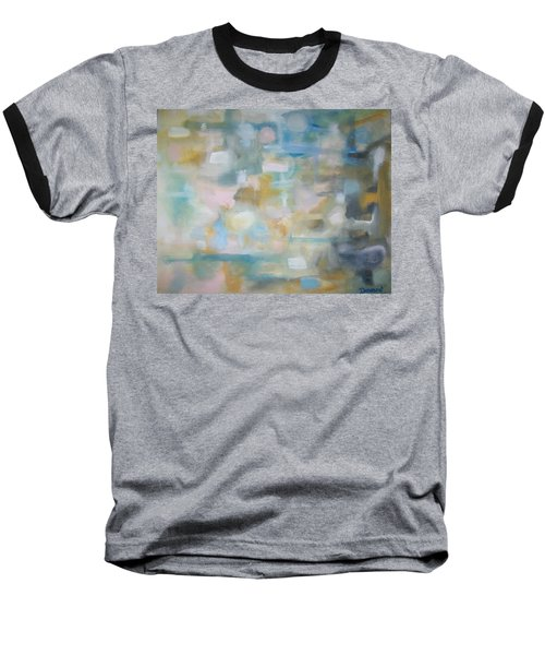 Baseball T-Shirt featuring the painting Forgetting The Past by Raymond Doward