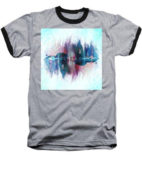 Forgive Arrow Baseball T-Shirt