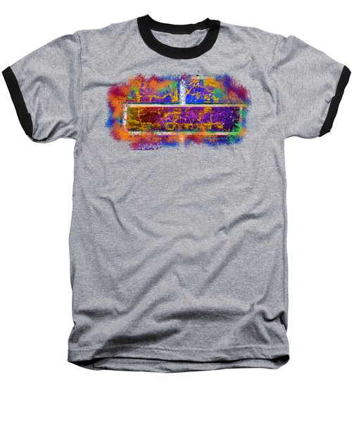 Forgive Brick Blue Tshirt Baseball T-Shirt