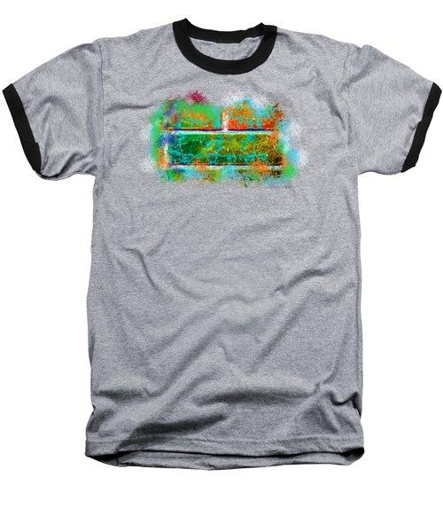 Forgive Brick Orange Tshirt Baseball T-Shirt by Tamara Kulish
