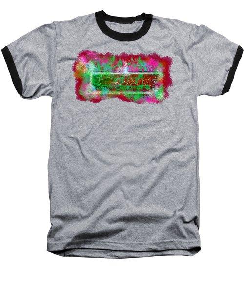 Forgive Brick Pink Tshirt Baseball T-Shirt by Tamara Kulish
