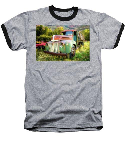Forgotten - 1945 Ford Farm Truck Baseball T-Shirt