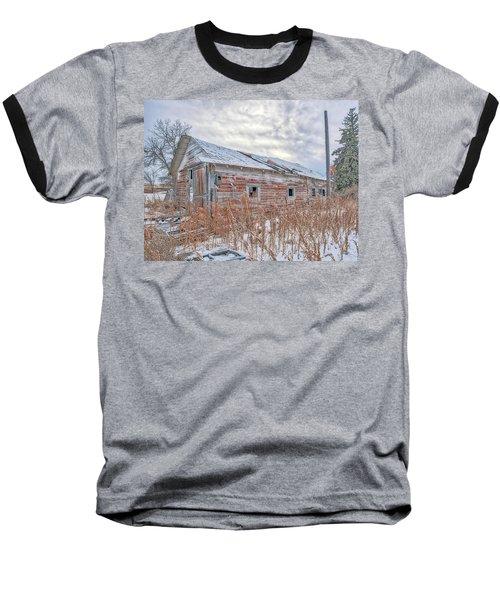 Forgotten Barn Baseball T-Shirt