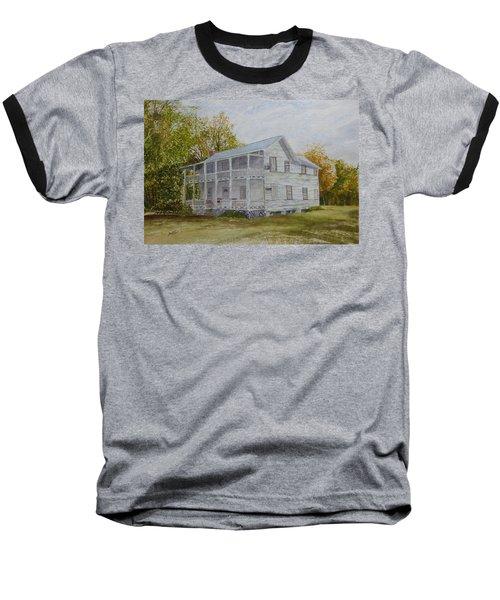 Forgotten By Time Baseball T-Shirt by Joel Deutsch