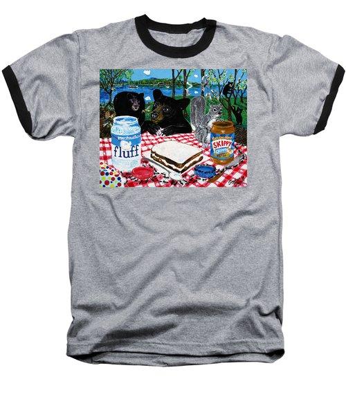 Forgotten Fluffernutter Baseball T-Shirt