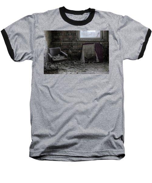 Forgotten Ideologies Baseball T-Shirt by Nathan Wright