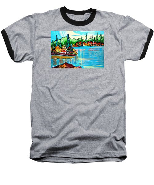 Forgotten Lake Baseball T-Shirt