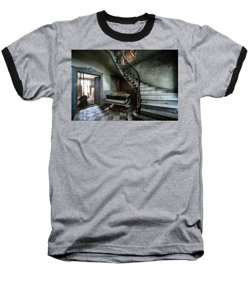 The Sound Of Decay - Abandoned Piano Baseball T-Shirt