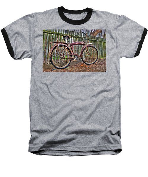 Forgotten Ride 1 Baseball T-Shirt by Jim and Emily Bush