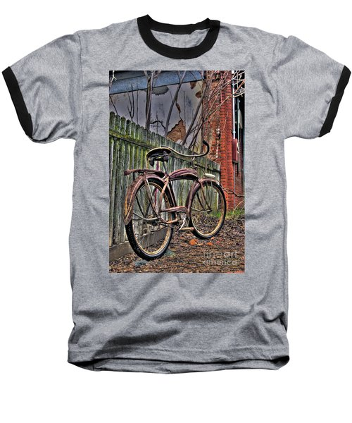 Forgotten Ride 2 Baseball T-Shirt by Jim and Emily Bush