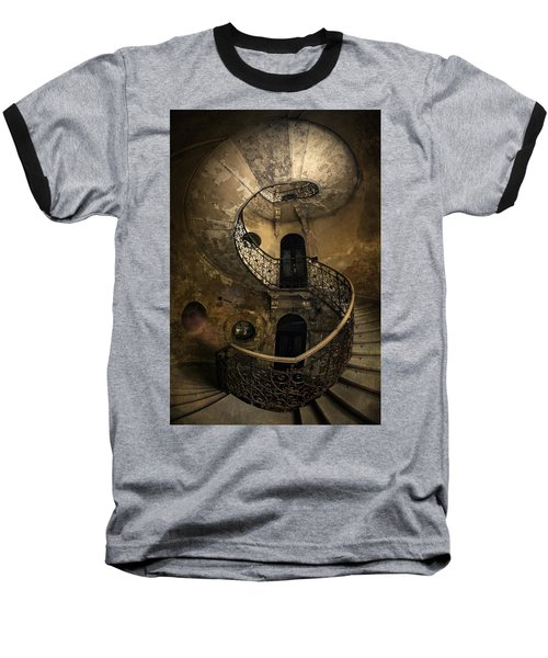 Forgotten Staircase Baseball T-Shirt