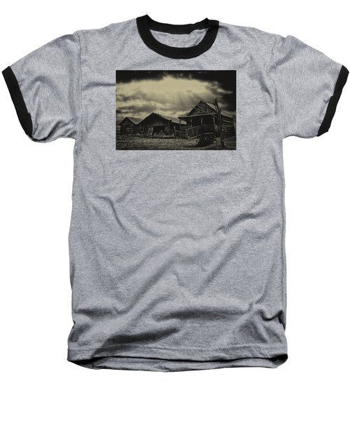 Forgotten Years Baseball T-Shirt by B Wayne Mullins