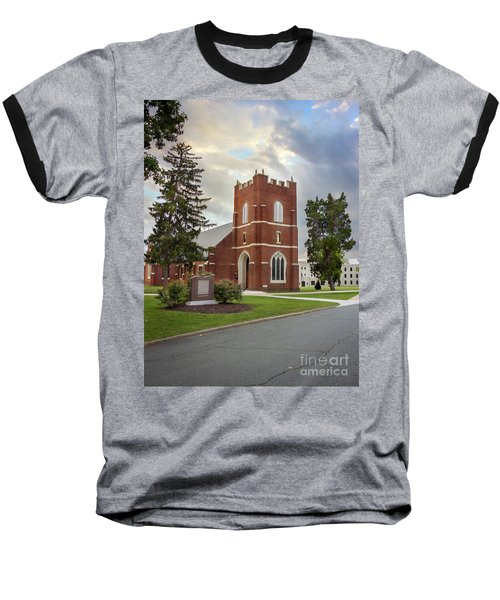 Fork Union Military Academy Wicker Chapel Sized For Blanket Baseball T-Shirt