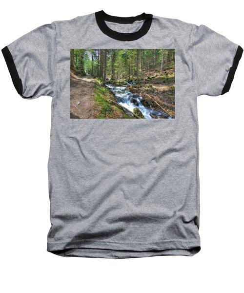 Forked Stream Baseball T-Shirt