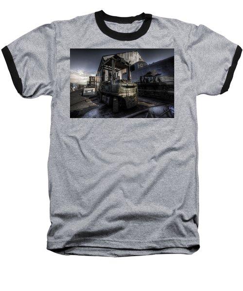 Forklift Baseball T-Shirt