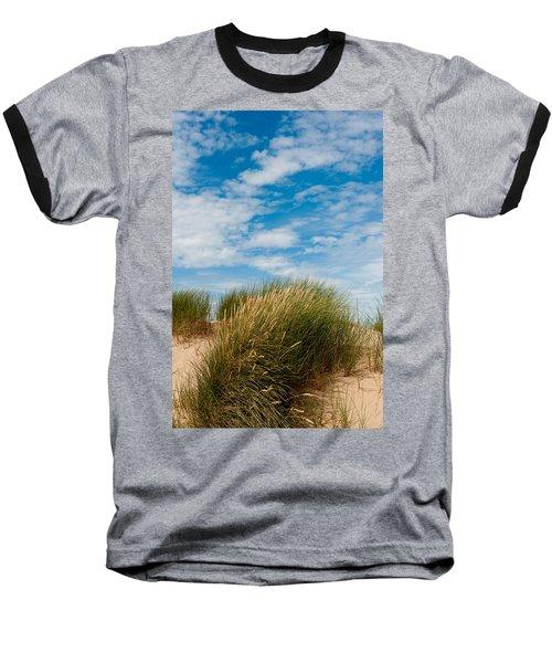 Formby Sand Dunes And Sky Baseball T-Shirt