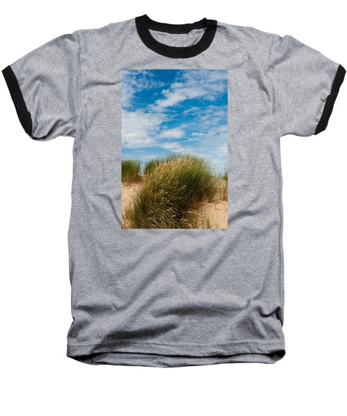 Formby Sand Dunes And Sky Baseball T-Shirt
