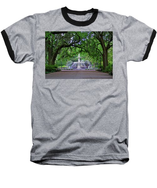 Baseball T-Shirt featuring the photograph Forsyth Park by Jean Haynes