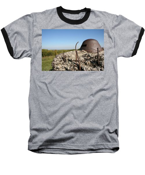 Baseball T-Shirt featuring the photograph Fort De Douaumont - Verdun by Travel Pics