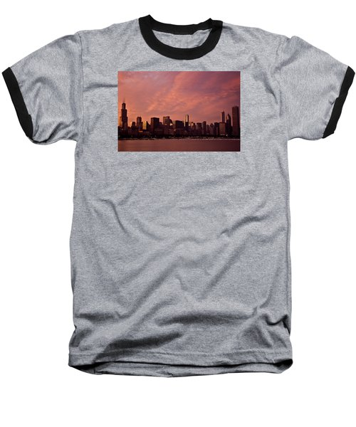 Fort Dearborn Baseball T-Shirt by Michael Nowotny