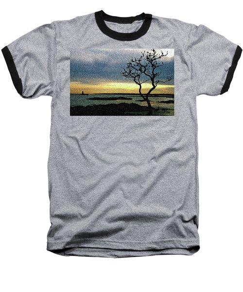 Fort Foster Tree Baseball T-Shirt