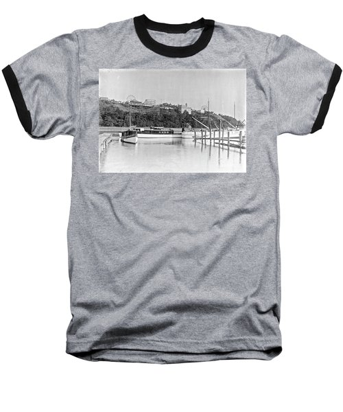 Fort George Amusement Park Baseball T-Shirt by Cole Thompson