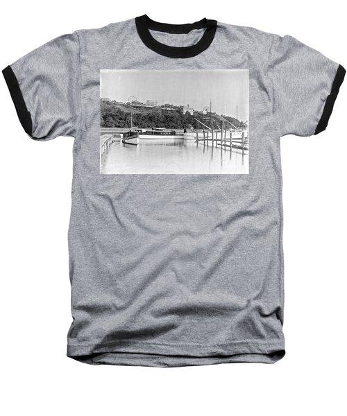 Fort George Amusement Park Baseball T-Shirt