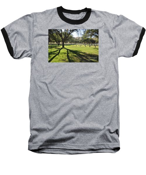Baseball T-Shirt featuring the photograph Fort Huachuca Post Cemetery by Gina Savage