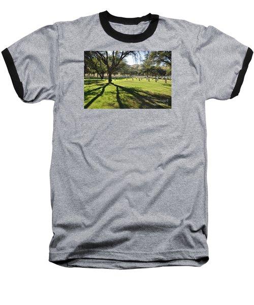 Fort Huachuca Post Cemetery Baseball T-Shirt by Gina Savage