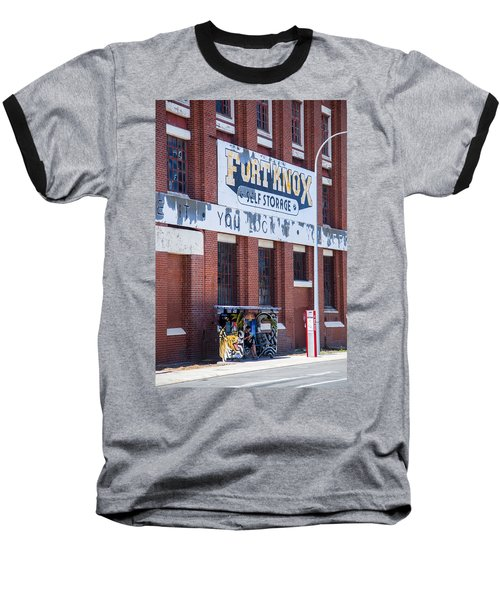 Fort Knox Baseball T-Shirt by Serene Maisey