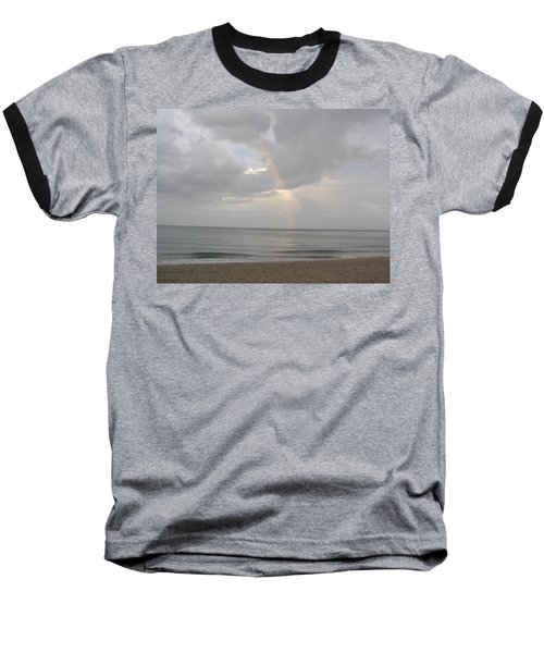 Fort Lauderdale Rainbow Baseball T-Shirt