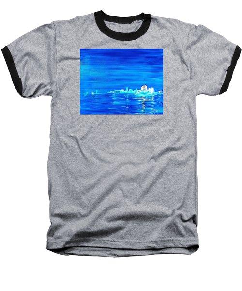 Fort Myers By Night Baseball T-Shirt