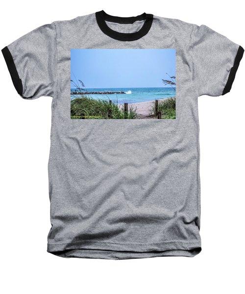Fort Pierce Inlet Baseball T-Shirt