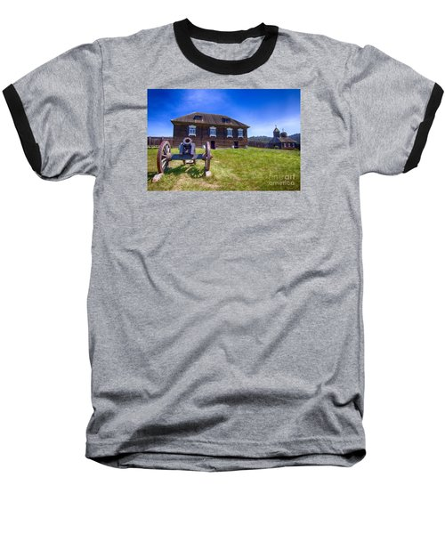 Baseball T-Shirt featuring the photograph Fort Ross State Historic Park by Jason Abando