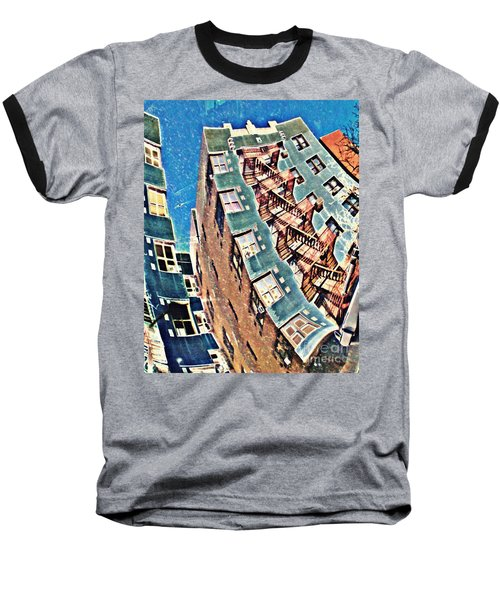 Fort Washington Avenue Building Baseball T-Shirt
