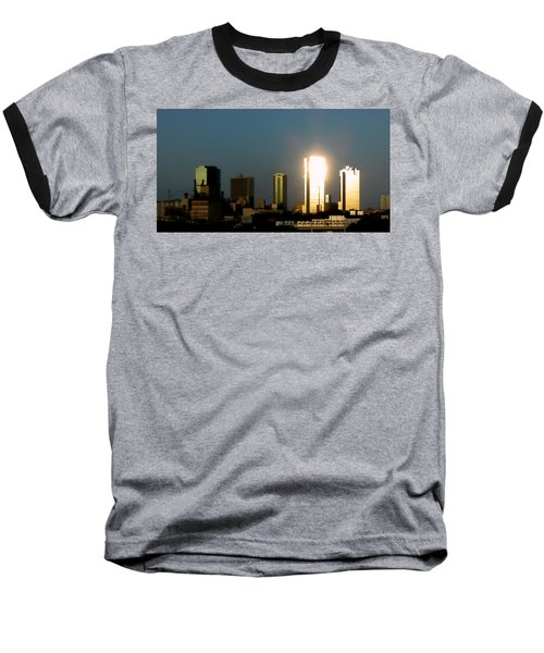 Fort Worth Gold Baseball T-Shirt by Douglas Barnard