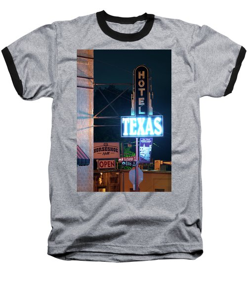 Fort Worth Hotel Texas 6616 Baseball T-Shirt