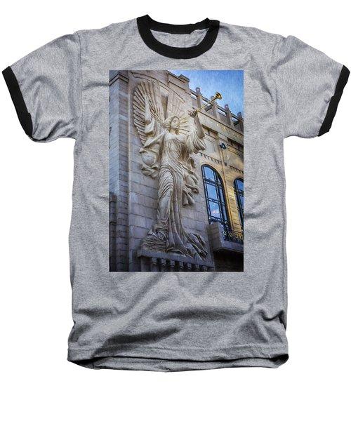 Fort Worth Impressions Bass Hall Angel Baseball T-Shirt