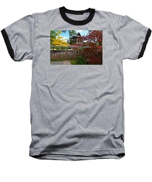 Fort Worth Japanese Gardens 2771a Baseball T-Shirt by Ricardo J Ruiz de Porras