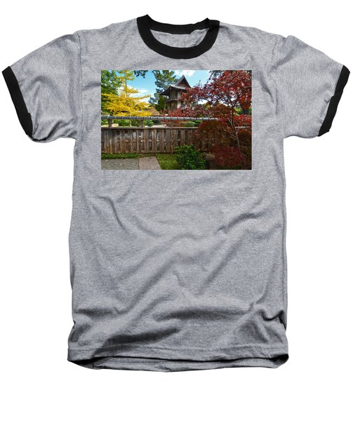Fort Worth Japanese Gardens 2771a Baseball T-Shirt