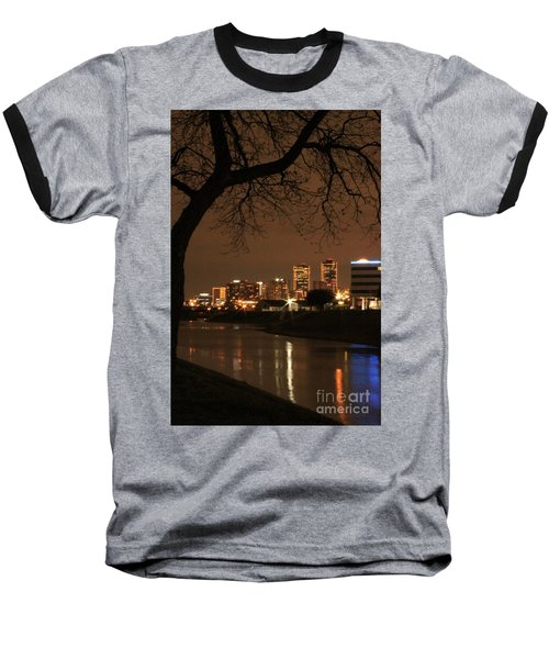 Fort Worth Skyline Baseball T-Shirt