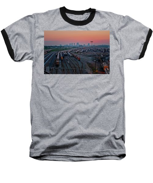 Fort Worth Trainyards Baseball T-Shirt