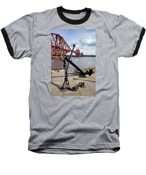 Baseball T-Shirt featuring the photograph Forth Bridge by Jeremy Lavender Photography