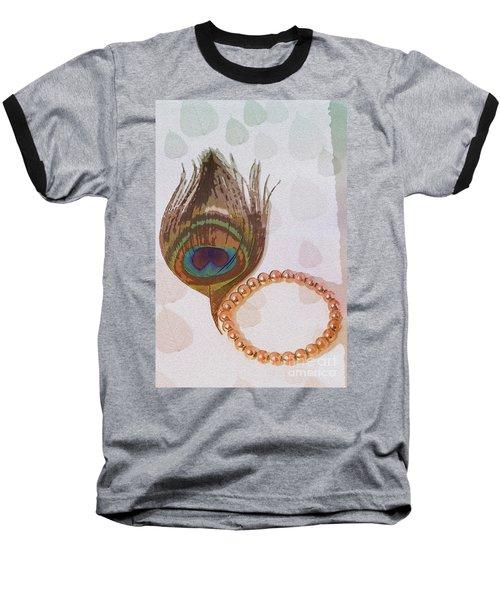 Fortune Assets Of Lord Krishna Baseball T-Shirt by Kiran Joshi
