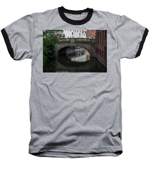 Foss Bridge - York Baseball T-Shirt by Scott Lyons
