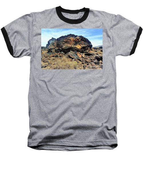 Fossil Falls Baseball T-Shirt