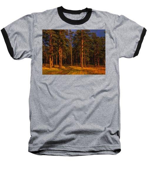 Forest After Rain Storm Baseball T-Shirt