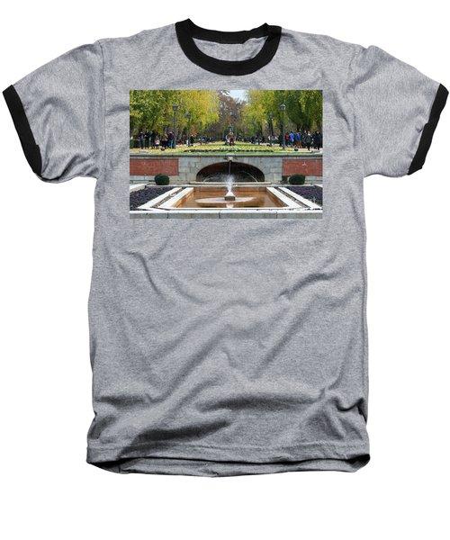 fountain in Buen Retiro  Baseball T-Shirt